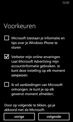 Nokia Lumia 630 - Applicaties - Account aanmaken - Stap 20