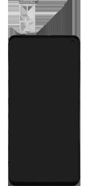 Samsung Galaxy S10 - Toestel - simkaart plaatsen - Stap 3