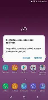 Samsung Galaxy J8 - Conexão com pc - Transferir dados do telefone para o computador (Windows) - Etapa 3