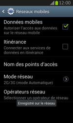 Samsung S7710 Galaxy Xcover 2 - Réseau - utilisation à l'étranger - Étape 15