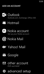 Nokia Lumia 720 - E-mail - Manual configuration - Step 6