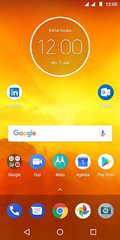 Motorola Moto E5 - Funções básicas - Como restaurar as configurações originais do seu aparelho - Etapa 1