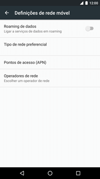 Huawei Google Nexus 6P - Internet no telemóvel - Como configurar ligação à internet -  8