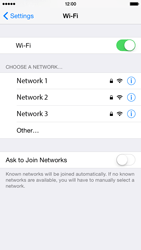 Apple iPhone 6 - Wi-Fi - Connect to Wi-Fi network - Step 5