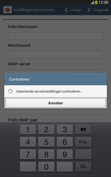 Samsung T315 Galaxy Tab 3 8-0 LTE - E-mail - e-mail instellen: IMAP (aanbevolen) - Stap 10