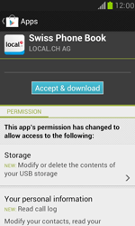 Samsung I8190 Galaxy S III Mini - Applications - Download apps - Step 10