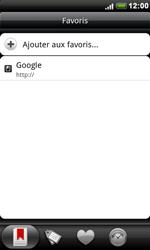 HTC S510e Desire S - Internet - Navigation sur Internet - Étape 9