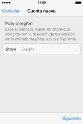 Apple iPhone 4S iOS 7 - Aplicaciones - Tienda de aplicaciones - Paso 9