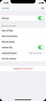 Apple iPhone X - E-mails - Ajouter ou modifier un compte e-mail - Étape 18