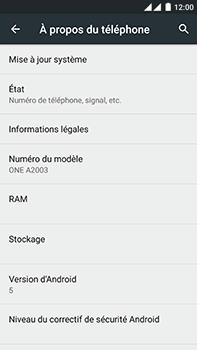 OnePlus 2 - Réseau - Installation de mises à jour - Étape 6