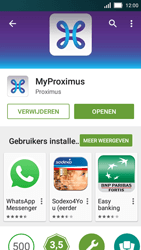 Huawei Y5 - Applicaties - MyProximus - Stap 9