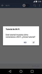 LG K10 4G - WiFi - Conectarse a una red WiFi - Paso 5