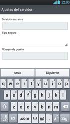 LG Optimus L9 - E-mail - Configurar correo electrónico - Paso 9