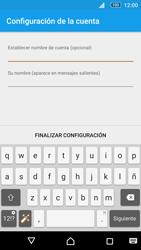 Sony Xperia M5 (E5603) - E-mail - Configurar Yahoo! - Paso 12
