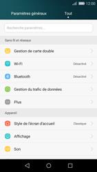 Huawei P8 Lite - Réseau - Changer mode réseau - Étape 3