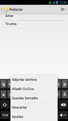 BQ Aquaris 5 HD - E-mail - Escribir y enviar un correo electrónico - Paso 10