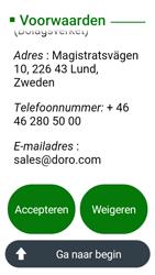 Doro 8031 - Toestel - Toestel activeren - Stap 47