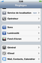 Apple iPhone 4 S - E-mail - Configuration manuelle - Étape 3