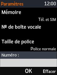 Nokia 3310 - Messagerie vocale - Configuration manuelle - Étape 8