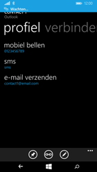 Microsoft Lumia 640 (Type RM-1072) - Contacten en data - Contacten overzetten via Bluetooth - Stap 10