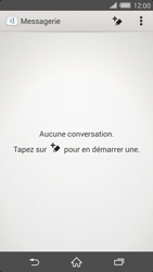 Sony Xperia Z2 - Contact, Appels, SMS/MMS - Envoyer un SMS - Étape 4