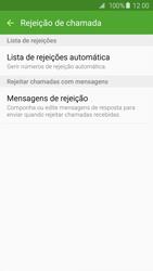 Samsung Galaxy S6 Edge - Chamadas - Como bloquear chamadas de um número -  7