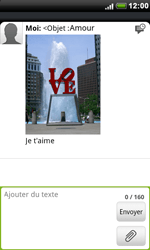 HTC S510e Desire S - MMS - envoi d'images - Étape 12