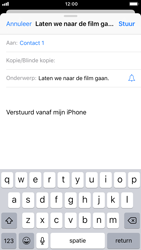 Apple iPhone 8 - iOS 12 - E-mail - Bericht met attachment versturen - Stap 7