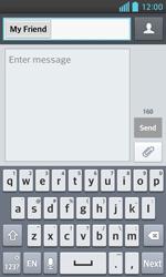 LG E460 Optimus L5 II - Mms - Sending a picture message - Step 7