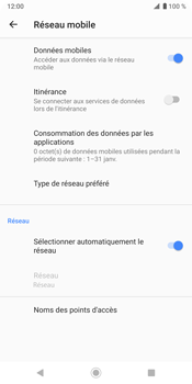 Sony Xperia XZ3 - Réseau - utilisation à l'étranger - Étape 10