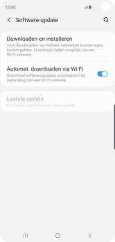 Samsung Galaxy S10 - Software update - update installeren zonder PC - Stap 5