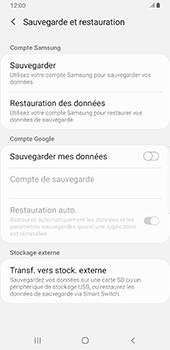 Samsung Galaxy S9 Plus - Android Pie - Données - créer une sauvegarde avec votre compte - Étape 6