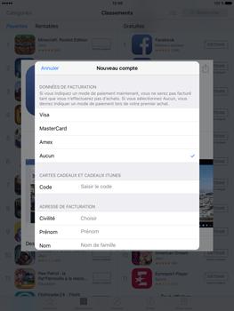 Apple iPad Pro (9.7) - Applications - Télécharger des applications - Étape 16