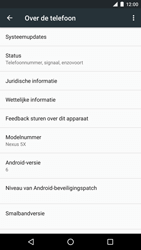 LG H791F Google Nexus 5X - Software update - update installeren zonder PC - Stap 5