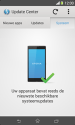 Sony D2005 Xperia E1 - Software update - update installeren zonder PC - Stap 7