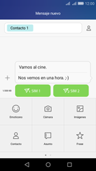 Huawei Huawei Y6 - Mensajería - Escribir y enviar un mensaje multimedia - Paso 13