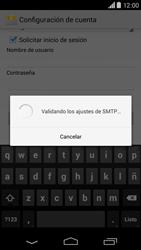 Motorola Moto X (2ª Gen) - E-mail - Configurar correo electrónico - Paso 16
