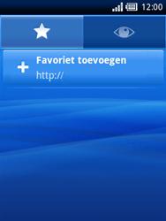 Sony Ericsson Xperia X10 Mini - Internet - Hoe te internetten - Stap 5