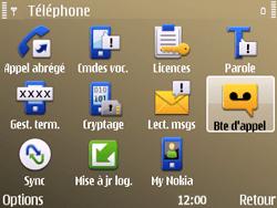 Nokia E72 - Messagerie vocale - Configuration manuelle - Étape 5