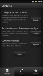 Sony Xpéria S - Contact, Appels, SMS/MMS - Ajouter un contact - Étape 4