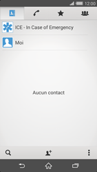 Sony Xperia Z2 - Contact, Appels, SMS/MMS - Ajouter un contact - Étape 5