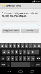 Motorola Moto E (1st Gen) (Kitkat) - Email - Como configurar seu celular para receber e enviar e-mails - Etapa 6