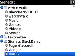 BlackBerry 9700 Bold - Internet - Navigation sur Internet - Étape 11