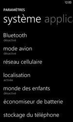 HTC Windows Phone 8S - Internet - Activer ou désactiver - Étape 4