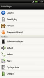 HTC S720e One X - Voicemail - Handmatig instellen - Stap 4