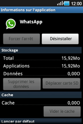 Samsung Galaxy Ace - Applications - Supprimer une application - Étape 7