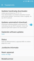Samsung Samsung G925 Galaxy S6 Edge (Android M) - Toestel - Software update - Stap 6