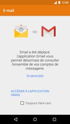 Motorola Moto G 3rd Gen. (2015) - E-mail - envoyer un e-mail - Étape 3