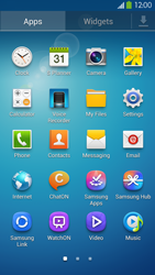 Samsung I9505 Galaxy S IV LTE - E-mail - Manual configuration IMAP without SMTP verification - Step 4