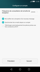 Huawei P8 Lite - E-mail - 032c. Email wizard - Outlook - Étape 8